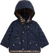 Burberry Lucca Quilted Hooded Jacket