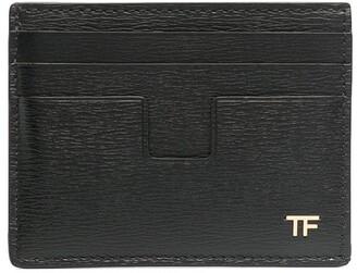 Tom Ford Monogram-Detail Leather Cardholder