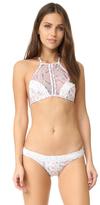 Zimmermann Zephyr Lace Halter Bikini