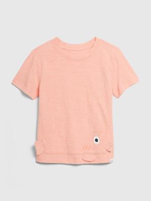 Gap Toddler 3D Kanga Pocket T-Shirt