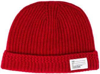 Visvim Knit Beanie in Red | FWRD