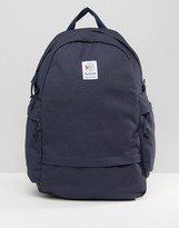 Reebok Classics Logo Backpack In Navy