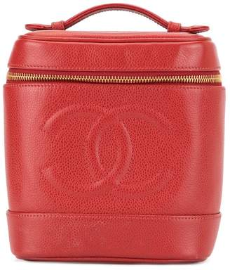 Chanel Pre-Owned CC stitch vanity bag