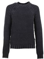 Tod's Grey Cable Knit Jumper
