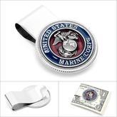 Ice Enamel Marine Corp Money Clip