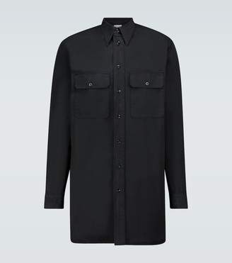 Lemaire Cotton long-sleeved military shirt