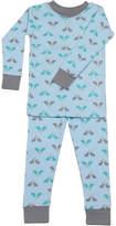 New Jammies Boys' Bunnies Blue Snuggly Pajamas