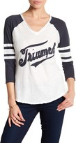 Lucky Brand Triumph Football Tee