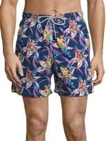 Saks Fifth Avenue COLLECTION Pineapple Printed Swim Trunks