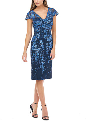 Carmen Marc Valvo Cocktail Dress