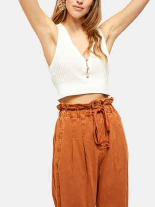 Free People Saturday Morning Cropped Tank