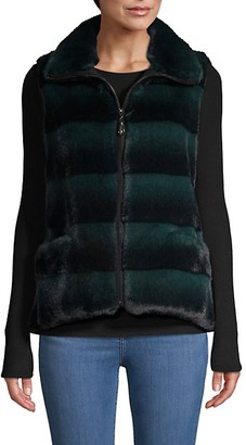 Belle Fare Faux Fur Quilted Vest
