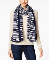 MICHAEL Michael Kors Ardenias Striped Oblong Scarf