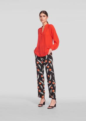 Tulip Print Trouser