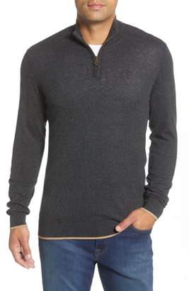 Agave Latitude Quarter Zip Sweater