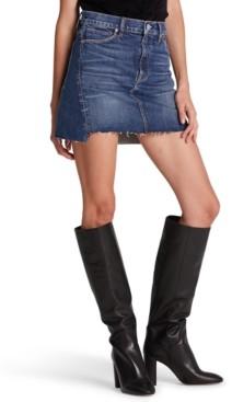 Hudson The Viper Denim Cutoff Skirt