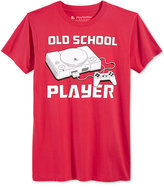 New World Men's Old School Player Video Game Graphic-Print T-Shirt