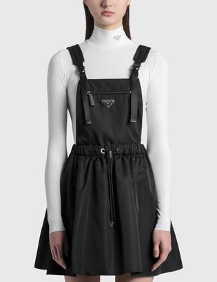 Sleeveless Re-nylon Gabardine Dress