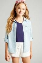 Forever 21 Girls Tulip-Front Shorts (Kids)