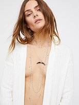 Free People Lex Horn Layered Necklace