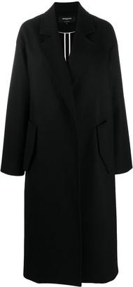 Rochas Oversized Concealed Fastening Coat