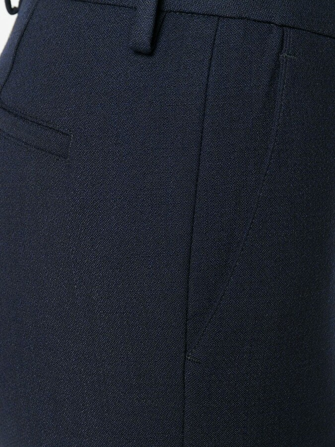Thumbnail for your product : Pt01 Tailored Flared Trousers