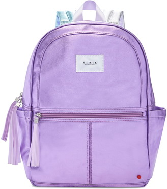 State Bags Kane Coated Metallic Backpack