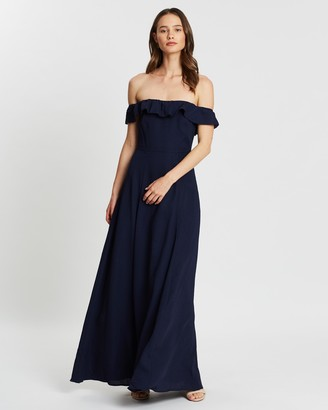 Atmos & Here Zara Ruffle Maxi Dress