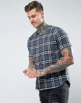 Religion Baseball Shirt With Check
