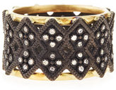 Armenta Double Crivelli Wide Band Ring