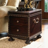 Tommy Bahama Royal Kahala Sunset Cay End Table with Storage Home
