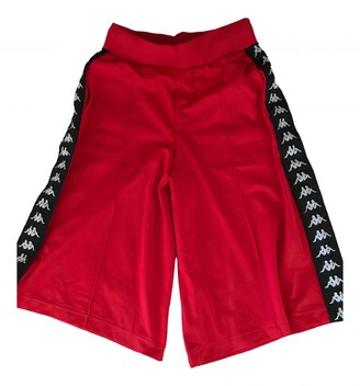 Kappa Red Shorts for Women