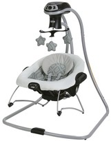 Graco DuetConnect® LX with Multi-Direction Baby Swing - Asher