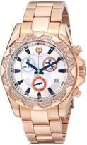 Brillier Women's 14-06 Analog Display Swiss Quartz Rose Gold Watch