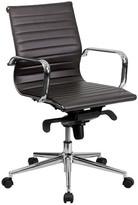 Corrigan Studio Cruz Mid-Back Leather Desk Chair