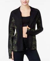 Jessica Simpson The Warmup Juniors' Mesh-Back Track Jacket