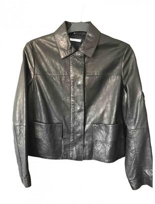 Nicole Farhi Black Leather Jackets