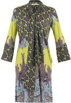 Etro Multicolor Printed Silk Jersey Dress