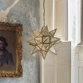 Graham and Green Brass Star Pendant