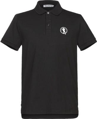 Bikkembergs Black Pique Cotton Men's Polo Shirt