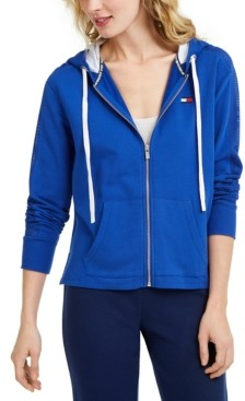 Tommy Hilfiger Active Mesh-Inset Hoodie