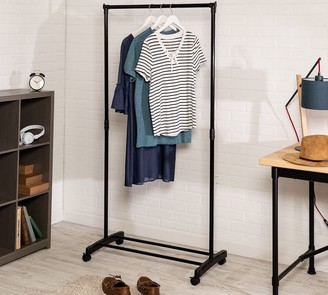 Pottery Barn Rolling Clothing Rack