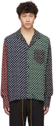 Rhude Multicolor Print Shirt