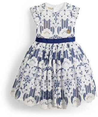 Elie Saab Lace Belted Dress (4-14 Years)