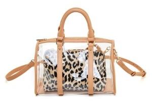 Like Dreams Clear Handle Handbag