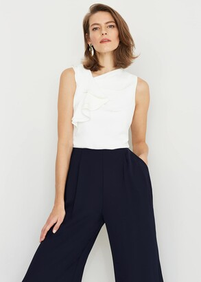 Phase Eight Maeve Frill Jumpsuit