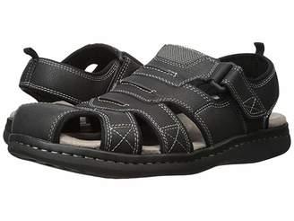 Dockers Searose Fisherman Sandal (Black) Men's Shoes