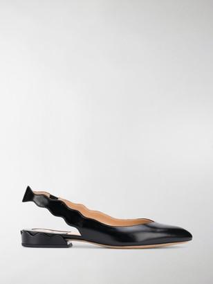 Chloé Slingback Ballerina Shoes