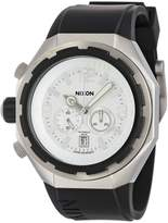 Nixon Men's Steelcat A313100 Silicone Swiss Quartz Watch