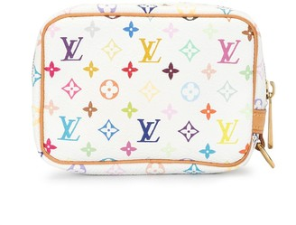 Louis Vuitton x Takashi Murakami 2005 pre-owned monogram Wapity case